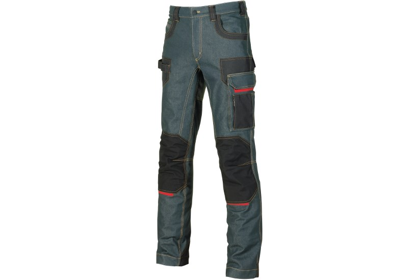 U-POWER PLATINUM BUTTON Rust Jeans