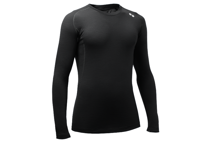 REWOOLUTION, EXPLORER, M\'s T-SHIRT LS, Koksgrå_190